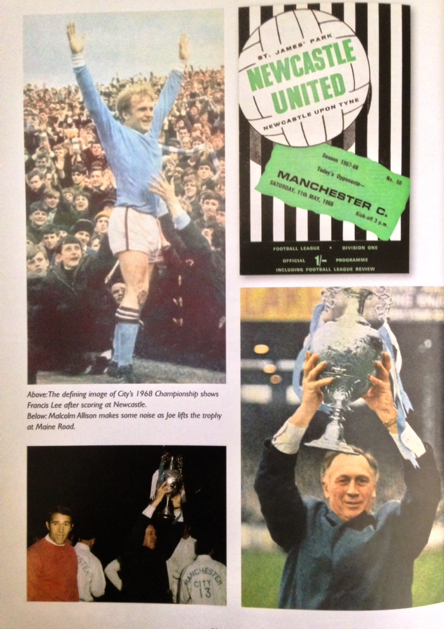 Champions - Joe Mercer and Malcolm Allison turned City from chumps into champs.
