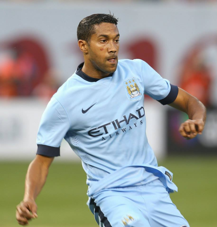 Left or right - Clichy has started the new season in good form. Courtesy@MCFC