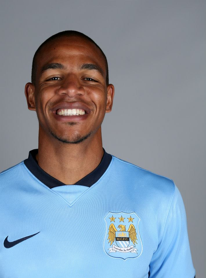 No smiling matter - Fernando appears out of his depth with City after his move from Porto. Courtesy@MCFC