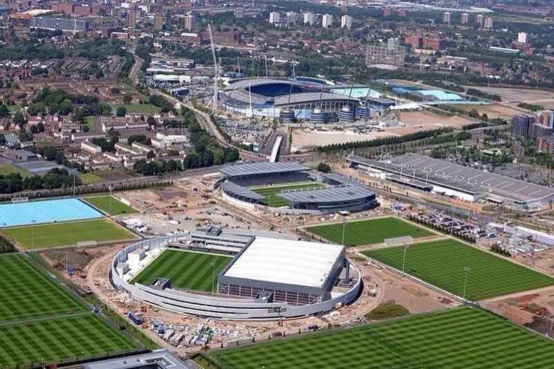 The future...here & now - The Etihad Campus is coming on a treat.
