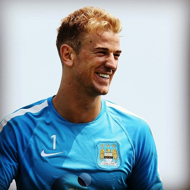Homegrown - Joe Hart is one of a dwindling band of top quality City players who qualify under PL & UEFA 'home-grown' criteria. Courtesy @MCFC