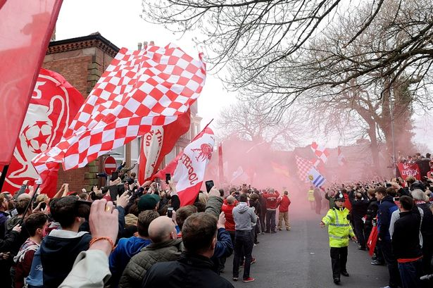 Premature jubilation - Liverpool fans celebrated Premier League success a bit too soon last season.