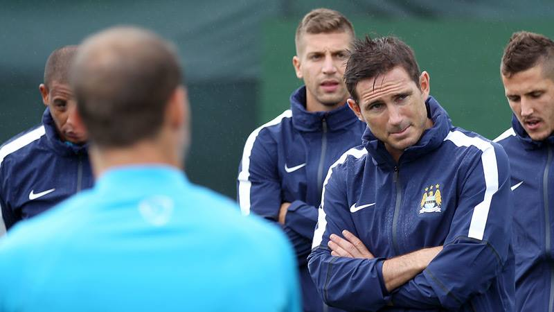Welcome addition - Lampard's arrival could prove a masterstroke for City. Courtesy @MCFC