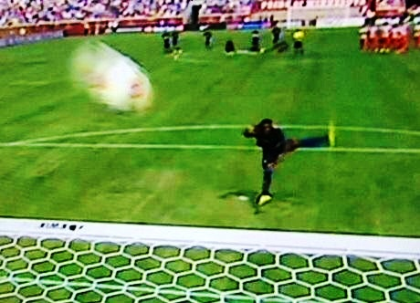 Out of this world - Micah's last penalty is still being tracked by NASA satellites.
