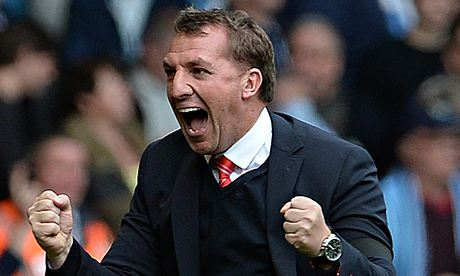 Rodgers & Out - The Liverpool manager sniped at Man City throughout last season.
