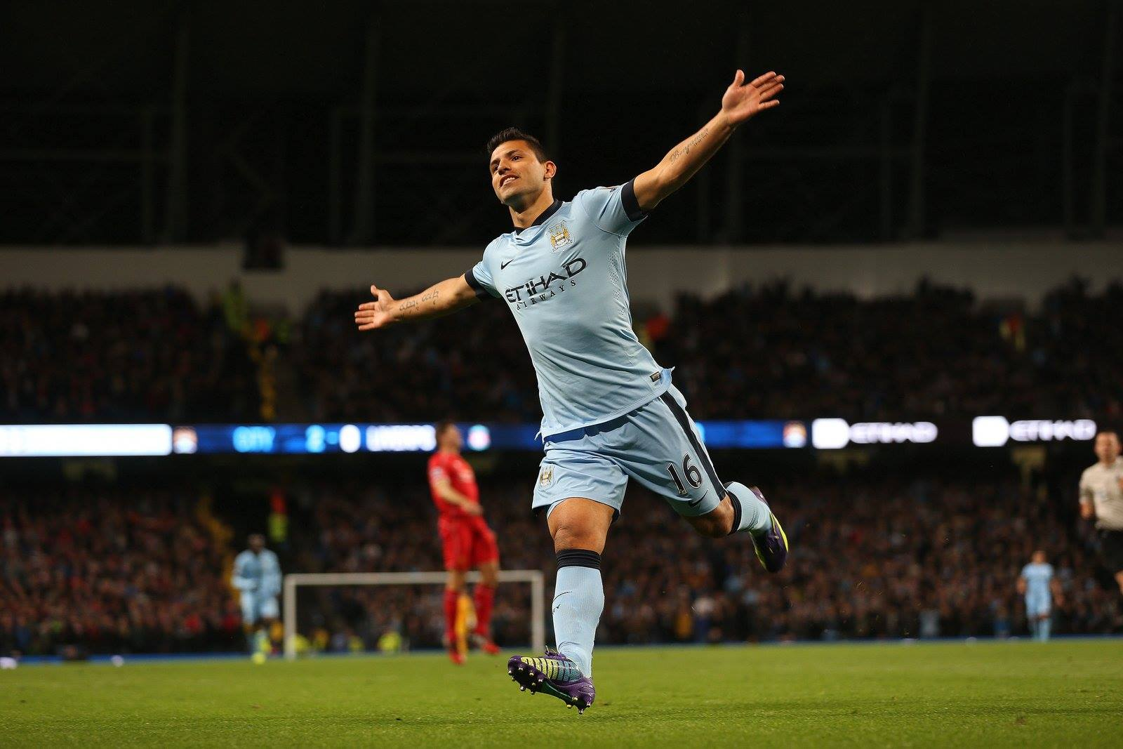 Sergio Sergio - City's phenomenal goal machine. Courtesy@MCFC