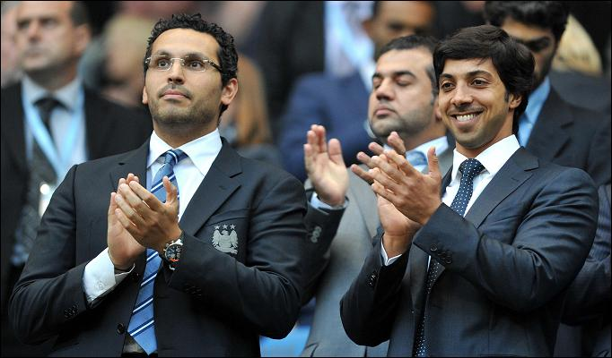 Shine a light - City owner Sheikh Mansour and Chairman Khaldoon Al Mubarak have yet to enjoy a win on Wearside.