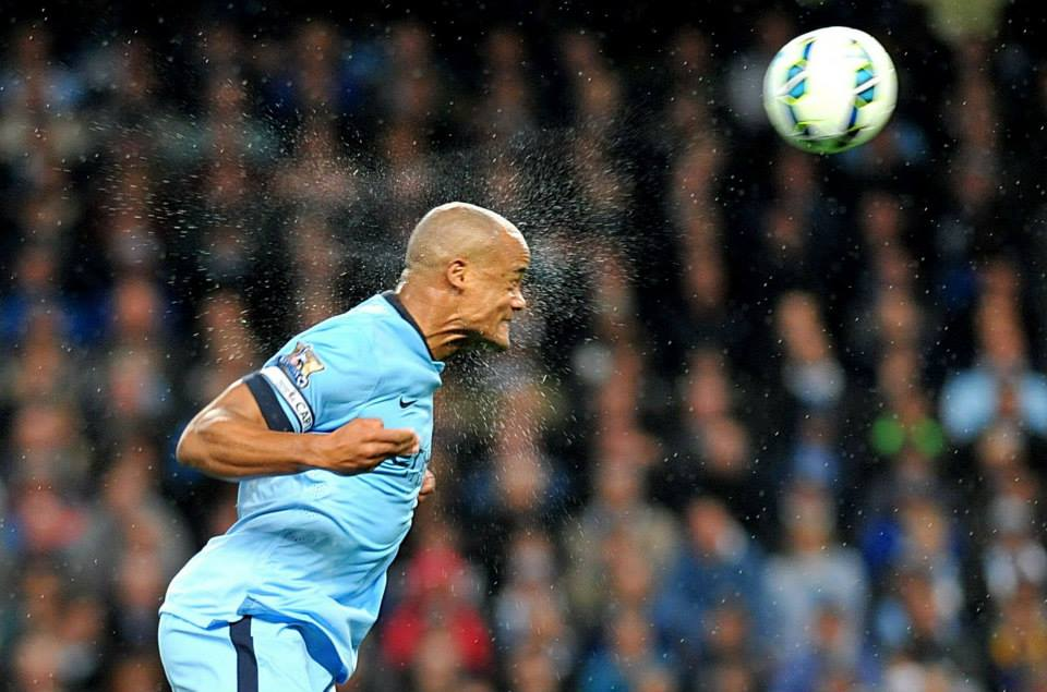 Streets ahead - Kompany & Co were far superior in defence than their opponents. Courtesy@MCFC