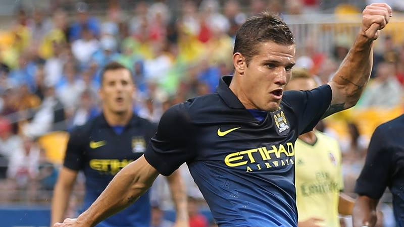 One for the future - Bruno Zuculini might make the bench for the Community Shield. Courtesy @MCFC