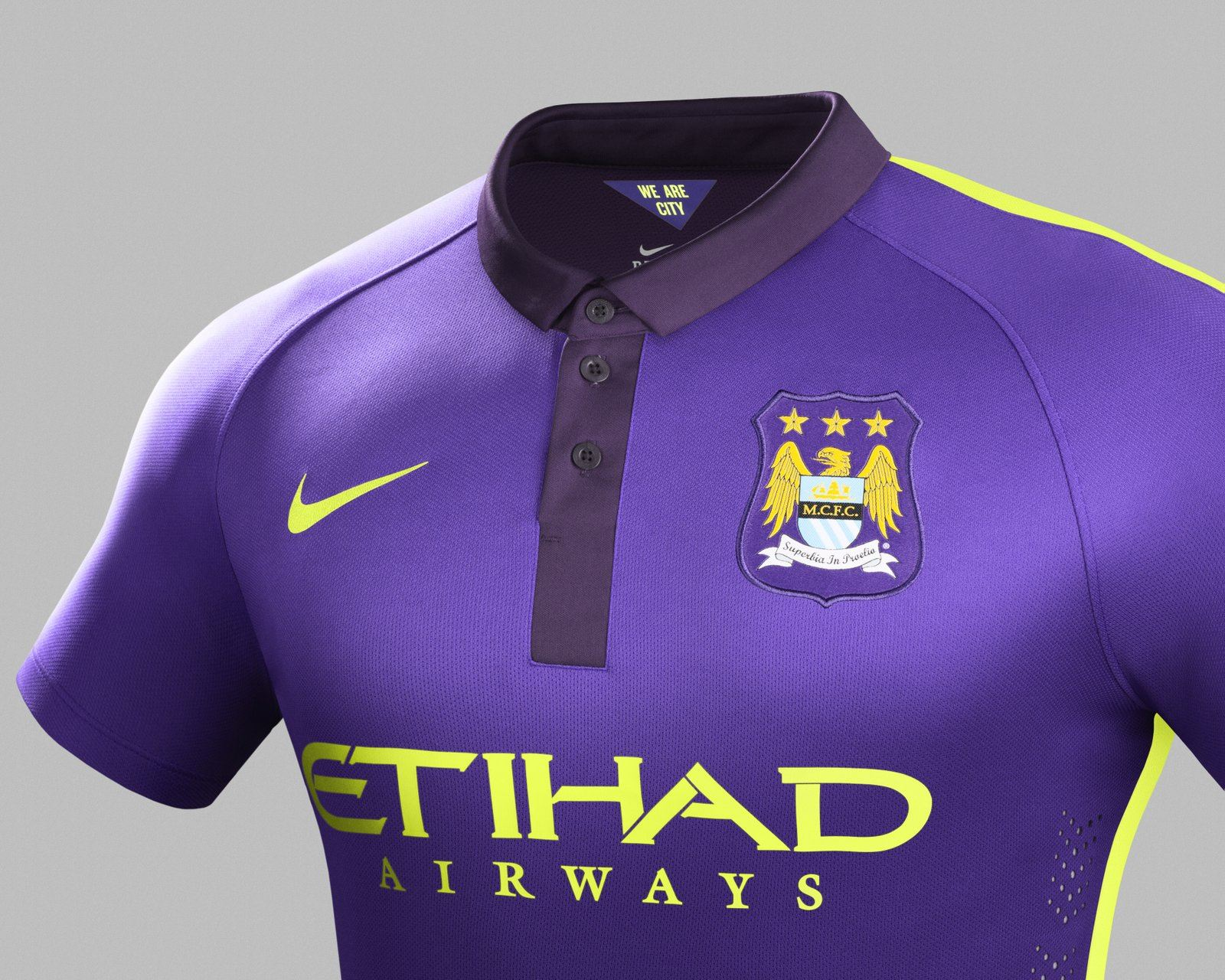 Purple patch - Will City's performance in Munich match their snazzy new Cup kit? Courtesy@MCFC