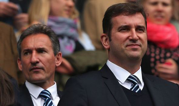 Who's in charge of City's transfers? - City CEO Ferran Soriano and Director of Football Txiki Begiristain (left) have presided over off field and on field success, but City's recent transfer buys have been poor.