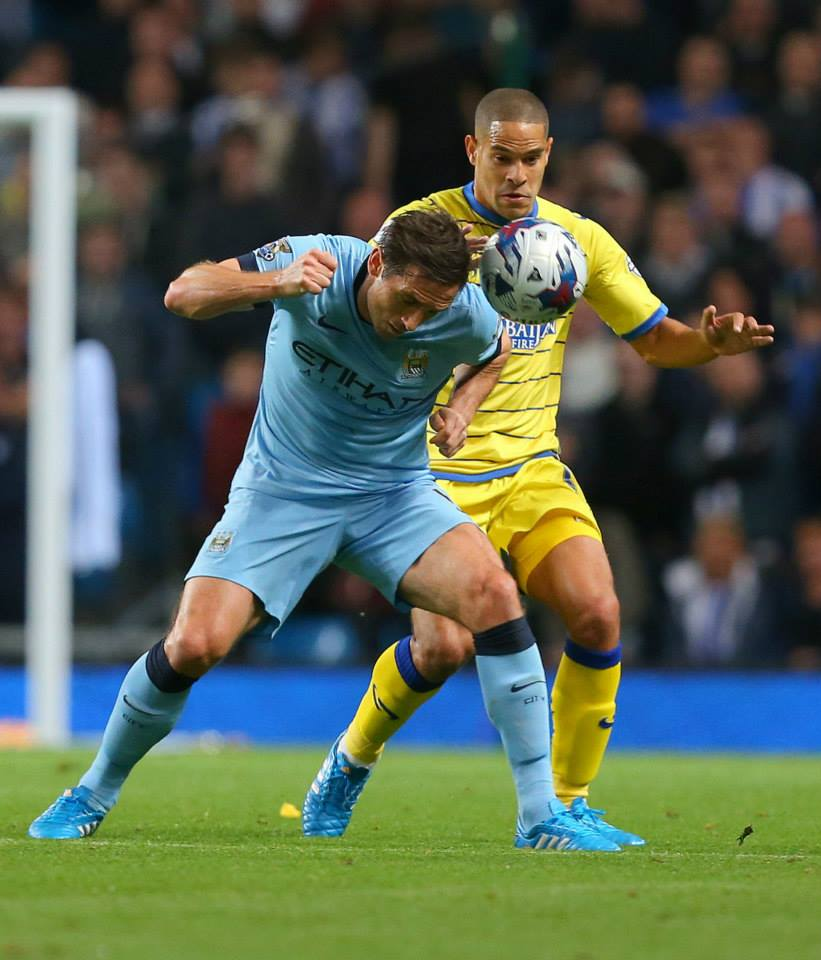 Consumate professional - Will Chelsea be regretting letting Lamps join City? Courtesy@MCFC