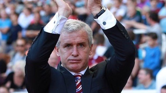 Red Connection - Ex Manure player and former City boss Mark Hughes took the spoils.