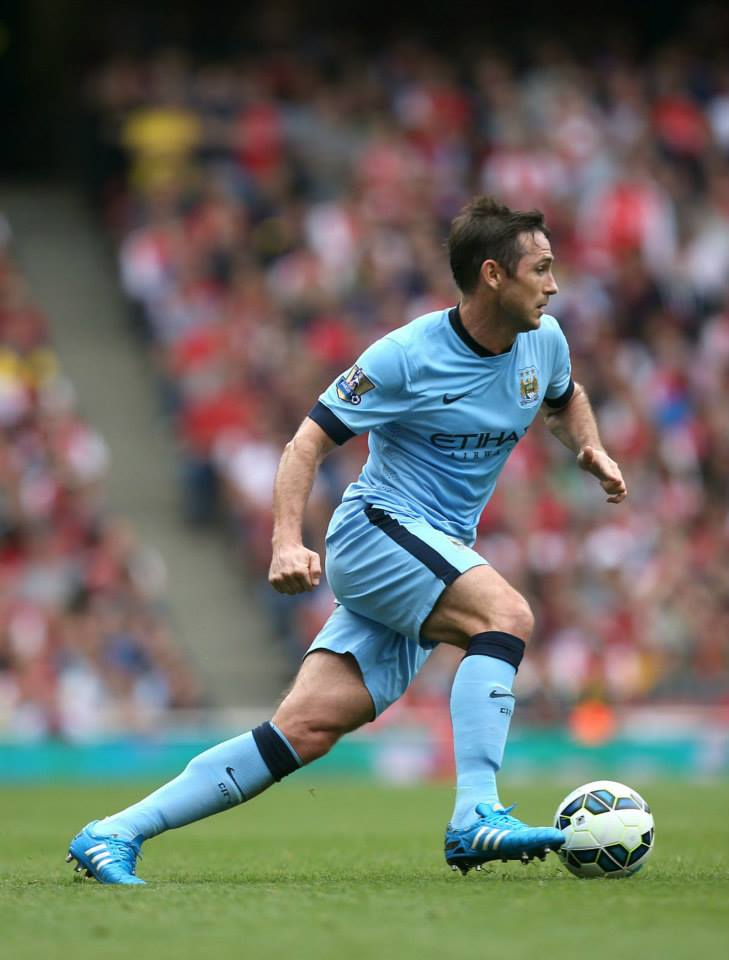 Booked - Lampard saw yellow from the man in yellow - Wilshire didn't, despite numerous offences. Courtesy@MCFC