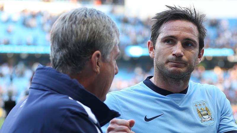 Franks alot - Lampard leaves the pitch to rapturous applause. Courtesy@MCFC