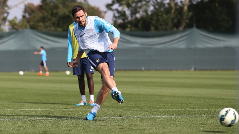 Will Lamps be in the limelight - could Frank make his City debut at Arsenal? Courtesy@MCFC