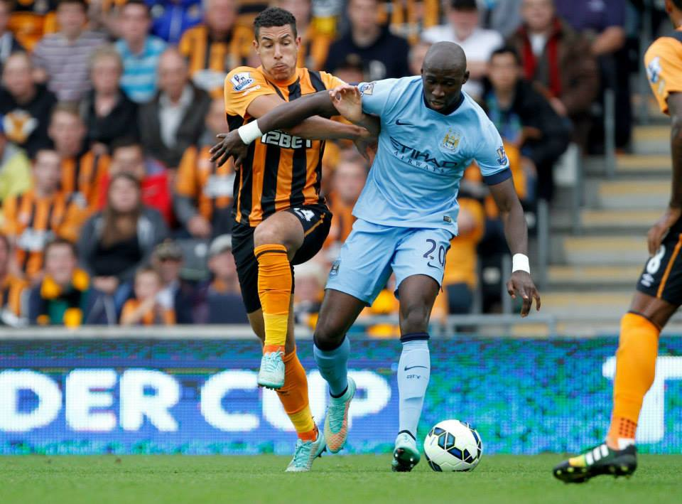 Out of contention  - Eliaquim Mangala is ruled out with a thigh strain. Courtesy@MCFC