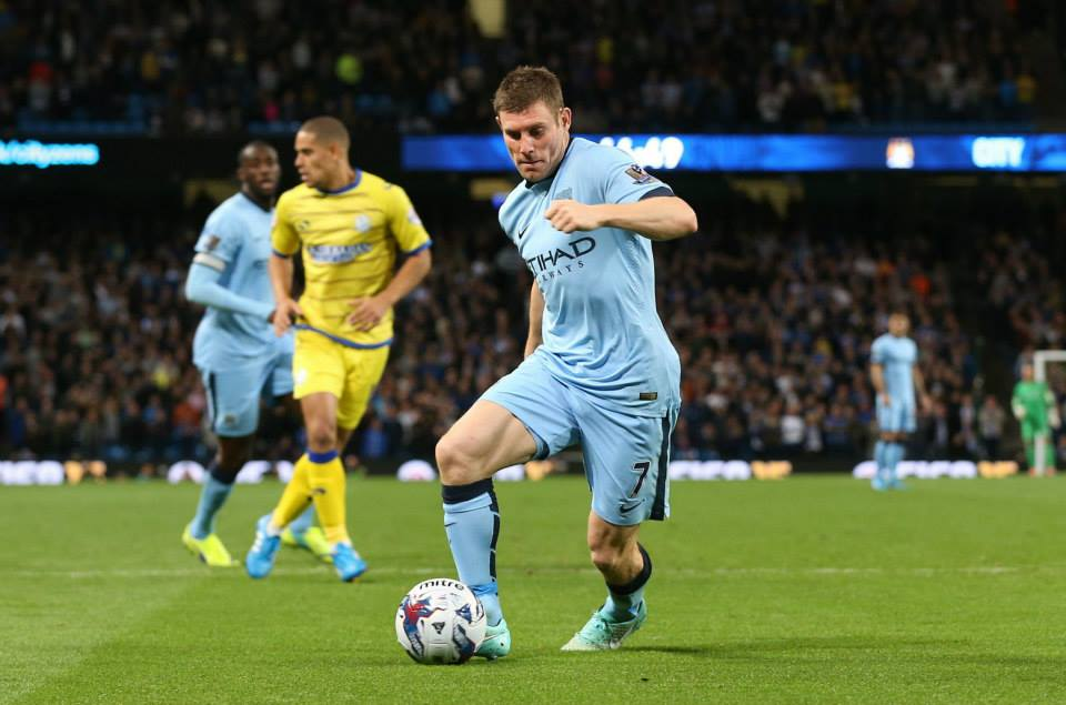 Milner time - James can step in and make a difference with Nasri ruled out. Courtesy@MCFC