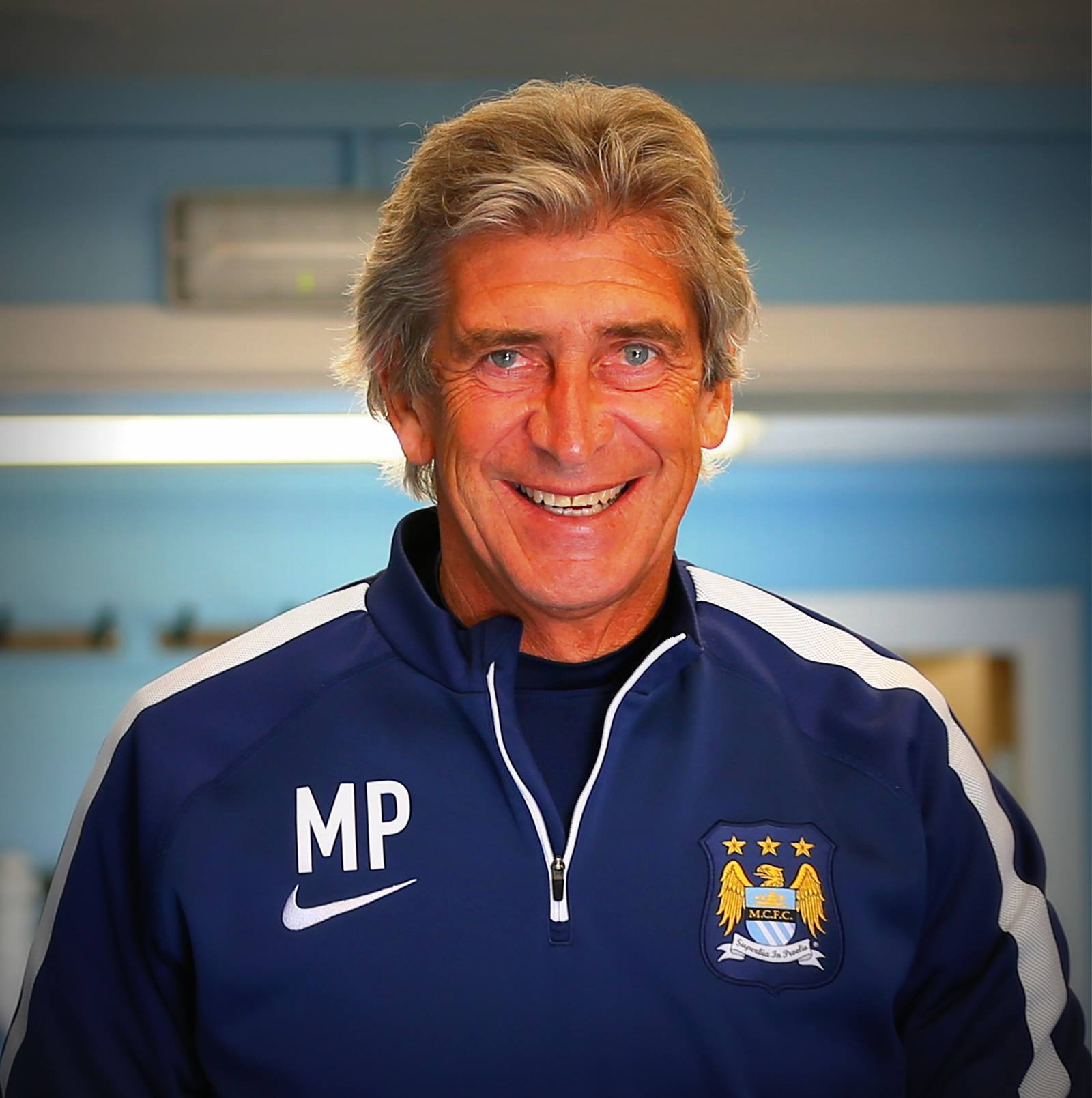 Keep smiling - Let's hope Manuel is wearing this expression in late May and early June. Courtesy@MCFC