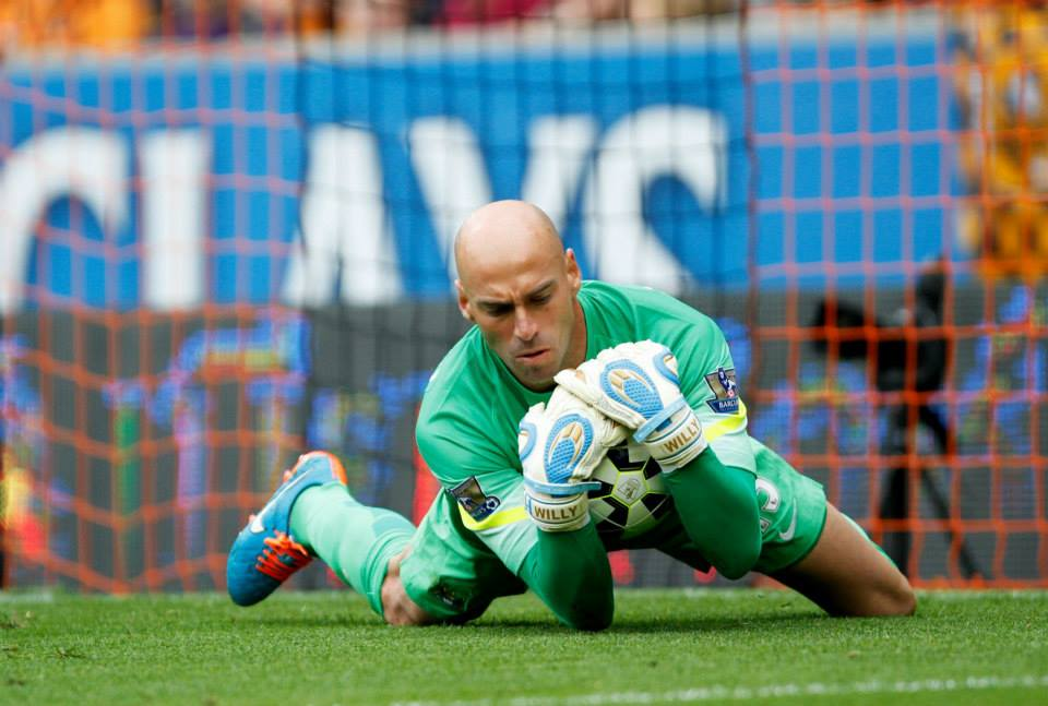 Mischief in the media - Caballero made his Premier League debut as part of Manuel's rotation policy, sparking  Robbie Savage to urge Joe Hart to leave Man City. Courtesy@MCFC