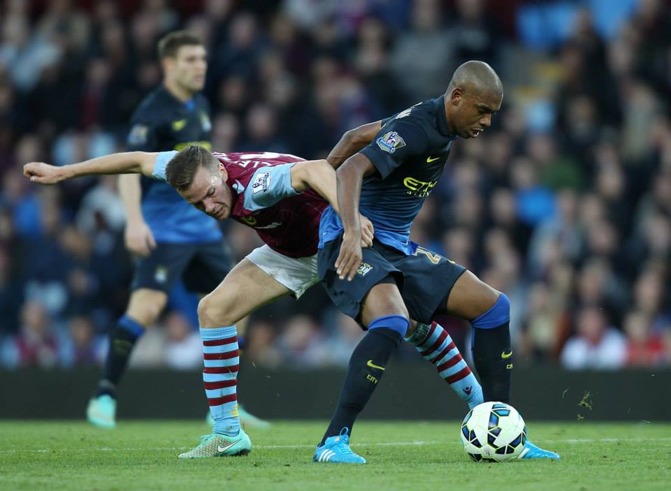 Combative - Dino went off with a hamstring injury. Courtesy@MCFC