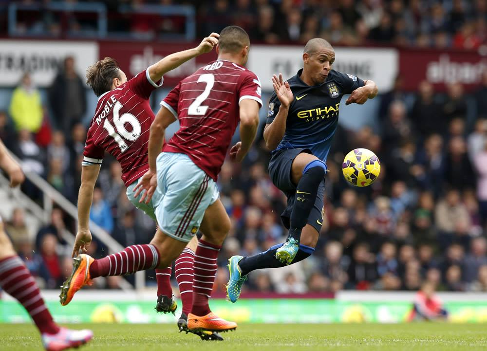 Not effective - Fernando has looked the part at times but City are conceding too many goals. Courtesy@MCFC