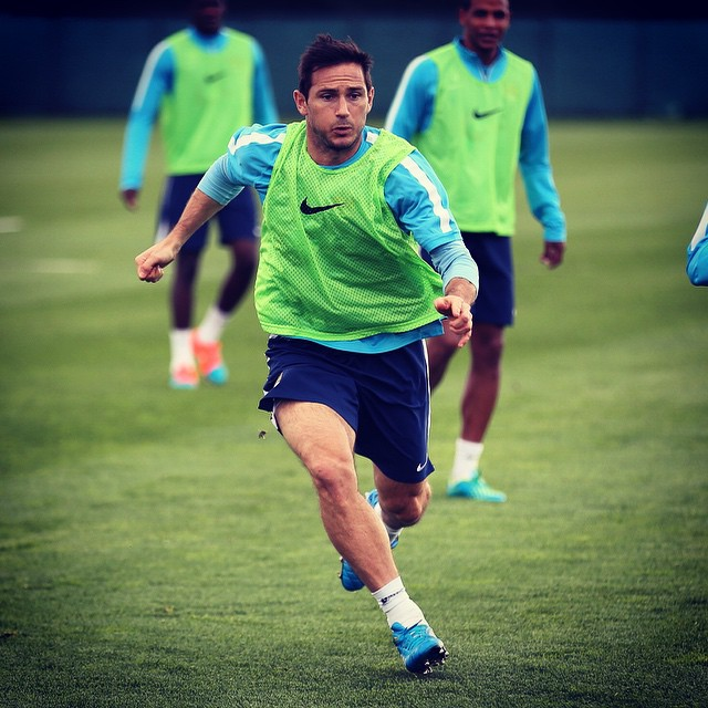 Lucky 14? - Super Frankie has already scored 13 goals against Villa in his career. Courtesy@MCFC