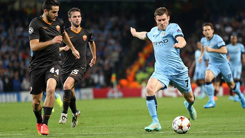 Improvement - Milner made a difference in the 2nd half but City still couldn't edge the win. Courtesy@MCFC