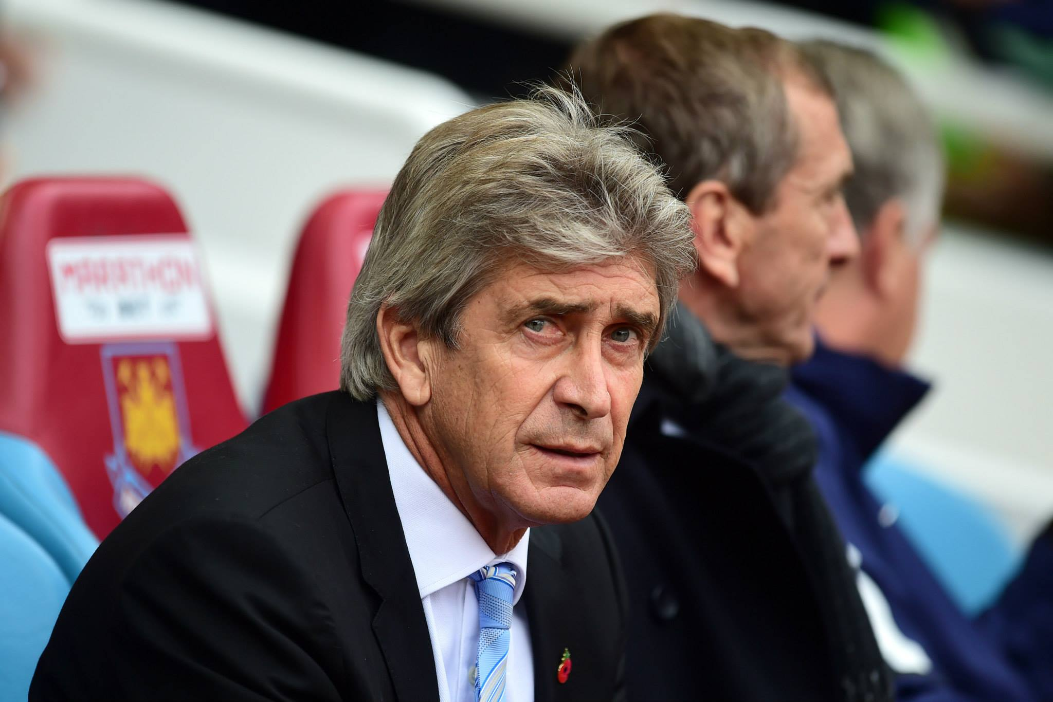 Incoming - Pellegrini is under intense pressure after dreadful City displays at Liverpool and Burnley. Courtesy@MCFC