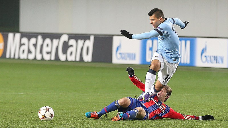 Cold War - City received an icy reception in Moscow and seemingly froze in the second half. Courtesy@MCFC