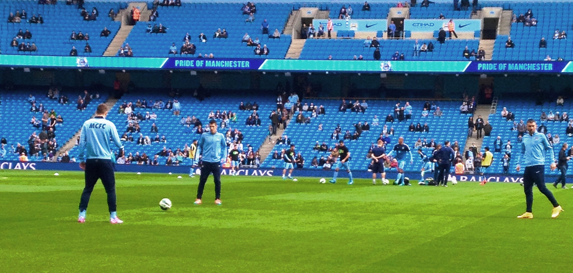 Warming up, but City were too hot for Spurs.
