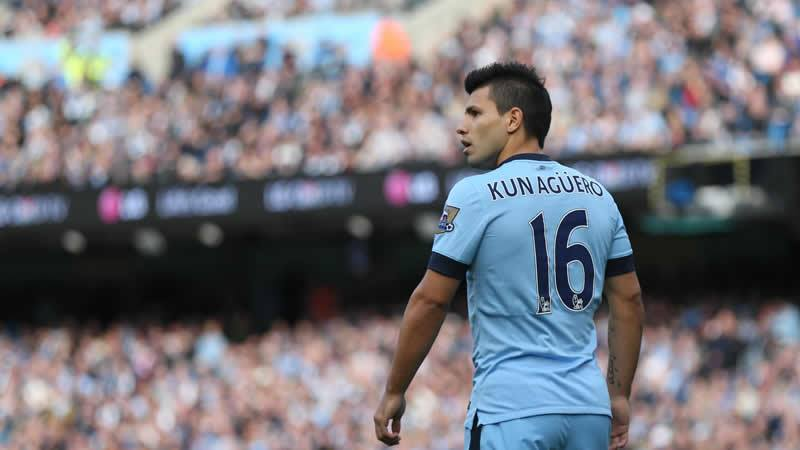 Blazing a trail on Bonfire Night - sizzling Sergio will be keen to score goal number 14 of the season and more this evening. Courtesy@MCFC