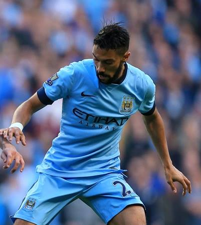 Magnifique - Clichy played well after being drafted in as a last minute replacement for injured Aleksander Kolarov. Courtesy@MCFC
