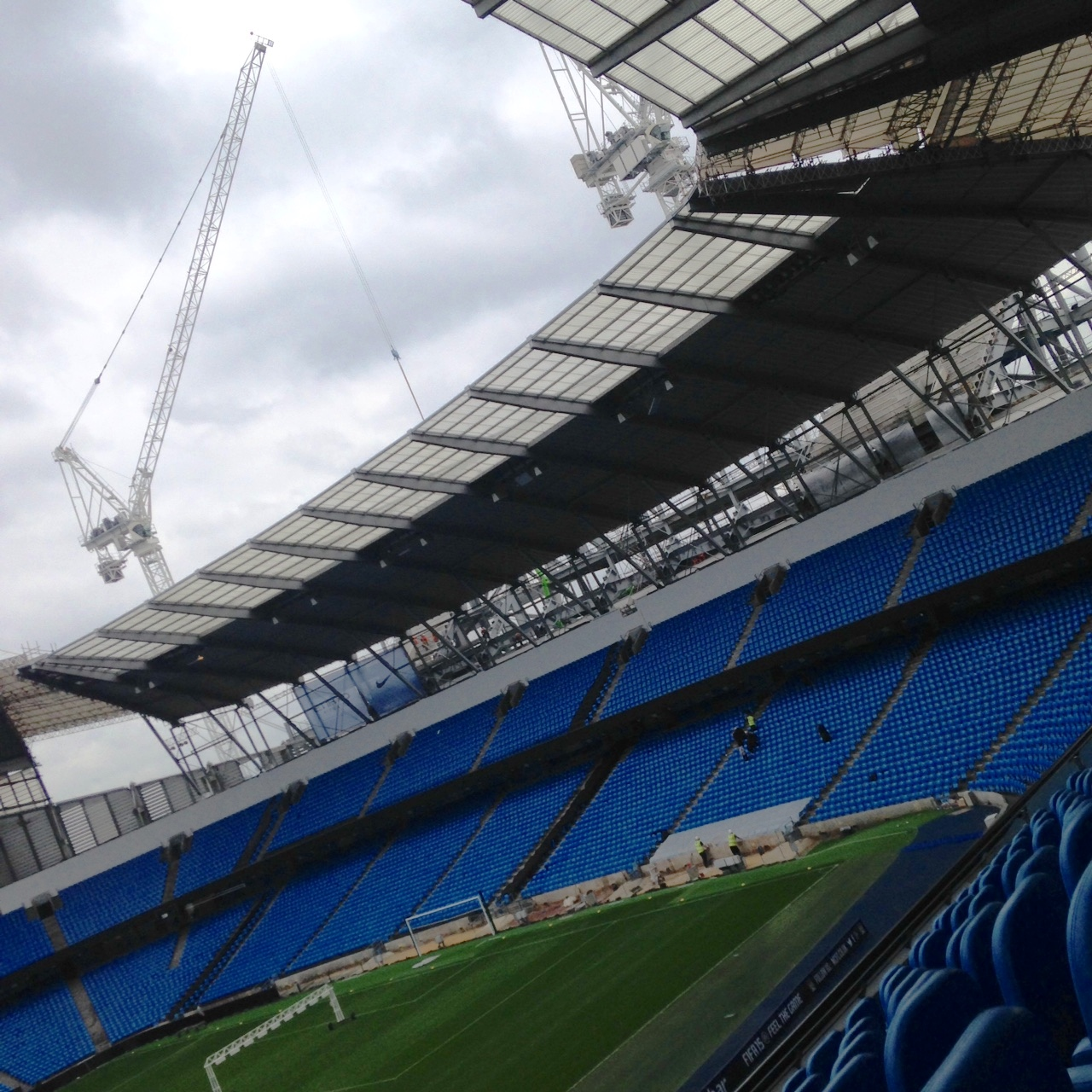 Roof raising - The Legends Stadium Tour will go down a storm with City fans.