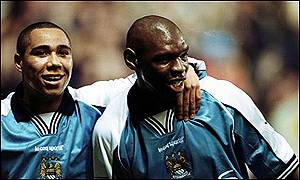 Glory days with the Goat - Jeff Whitley & Shaun Goater helped resurrect City's fortunes.