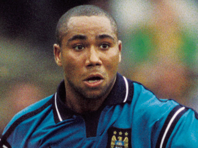 Perfect host - Jeff Whitley made a 133 first team appearances in City's colours.