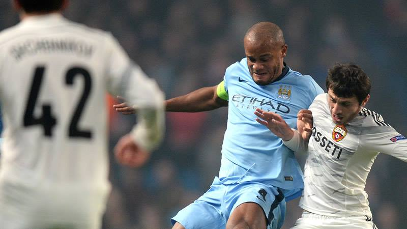 Field Marshall - Vincent Kompany & City would benefit from playing a higher line of defence.. Courtesy@MCFC