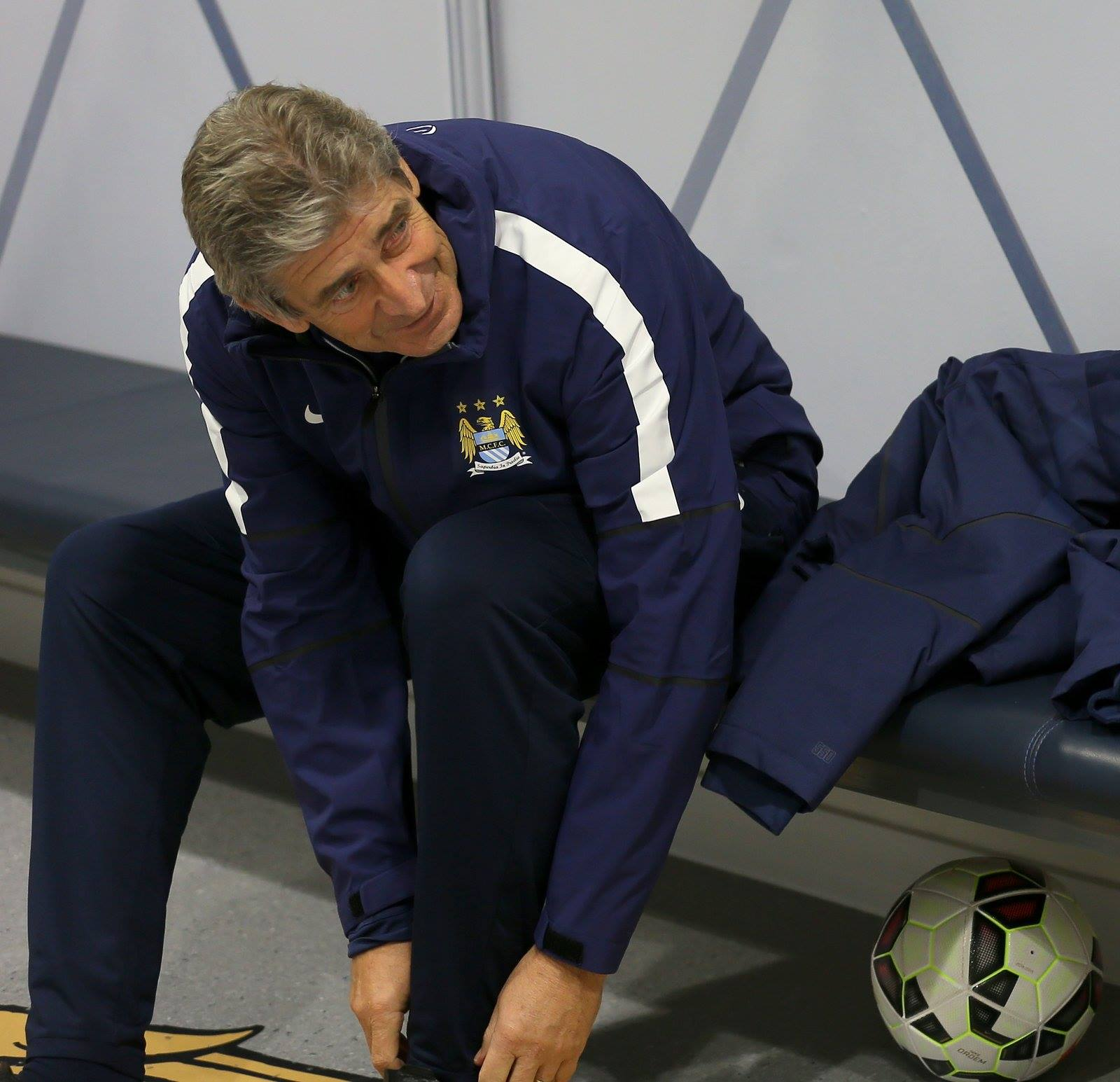 On the bench - will Manuel call up some of City's young attacking talent? Courtesy@MCFC