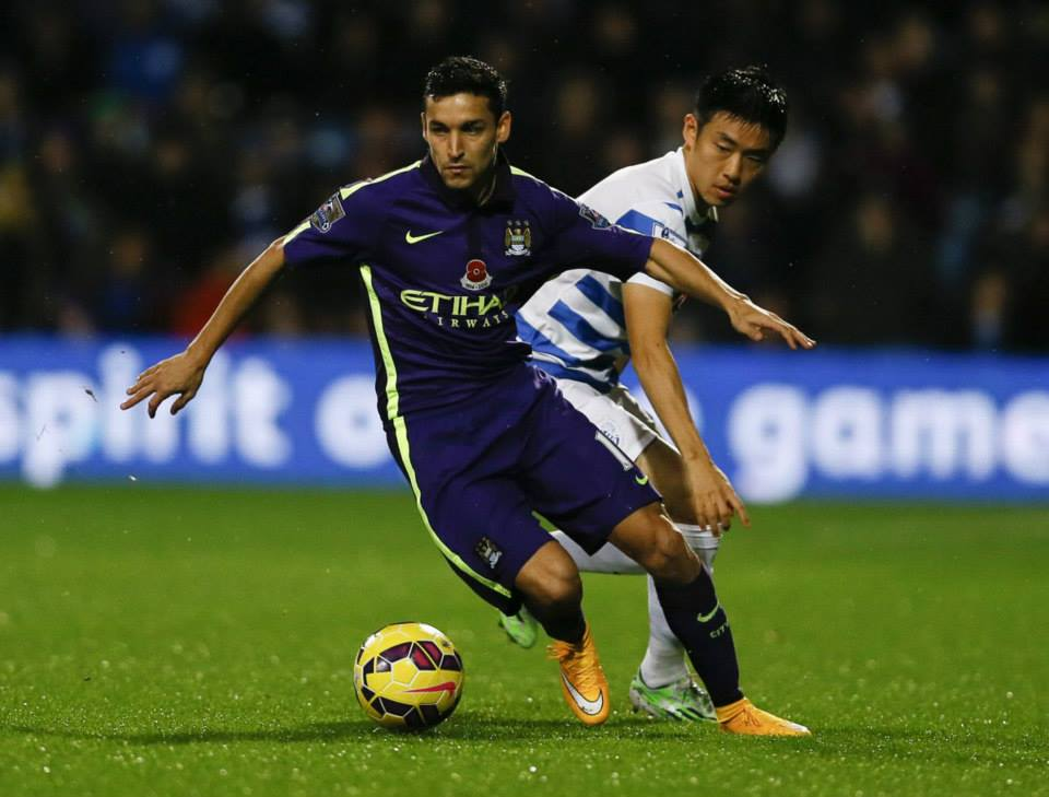 Sweet Jesus - Navas needs to ruffle Southampton's defence with his speed. Courtesy @MCFC