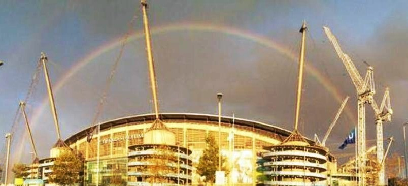 What's at the end of City's rainbow? A derby win but there's still 84 points up for grabs.