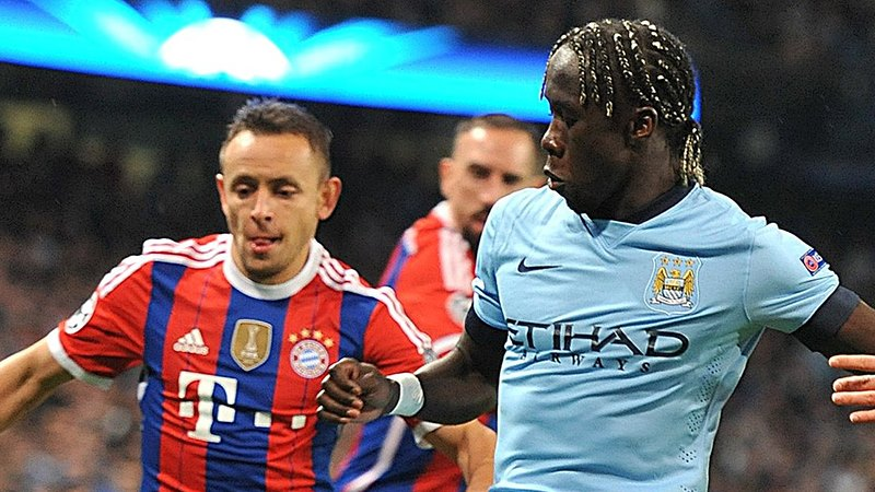 Solid Sagna - Bacary gave his best showing in sky blue on City's right flank. Courtesy@MCFC
