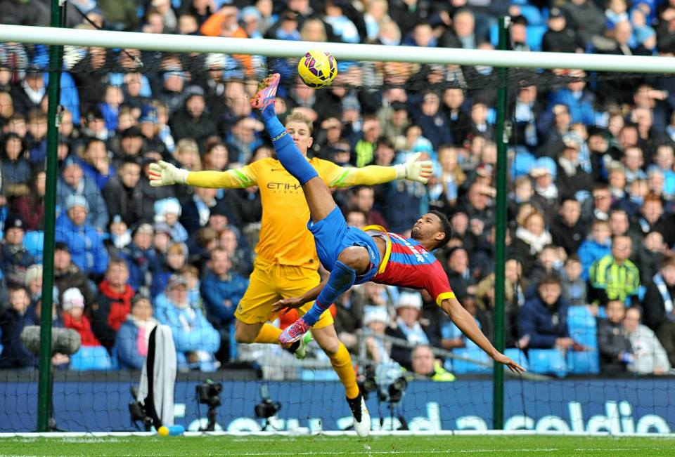 No entry - City have failed to keep a clean sheet in 9 matches since beating Palace 3-0 before Christmas. Courtesy@MCFC