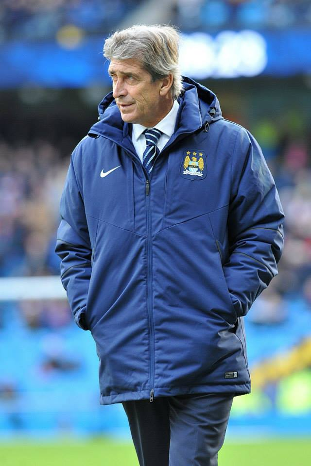 Calm under pressure - Pellegrini is still confident of domestic and European success. Courtesy@MCFC