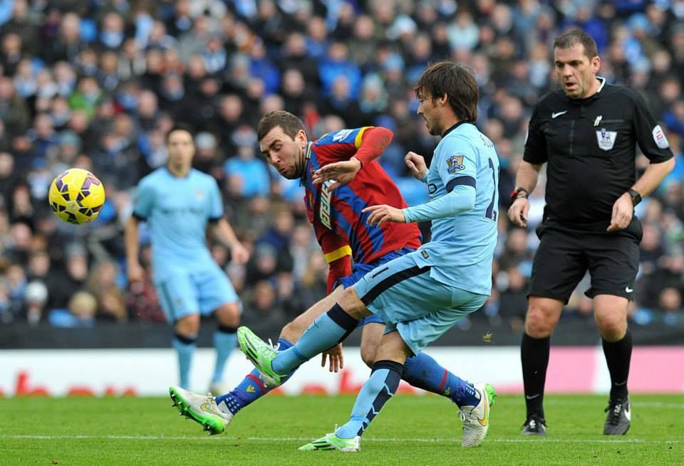 Silva lining - The record-breaking Spaniard is up there with Sergio Aguero as City's finest ever. Courtesy@MCFC