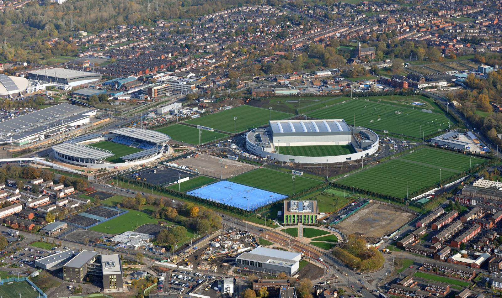 Simply the best - City's Football Academy has been acclaimed as the best on the planet. Courtesy@MCFC