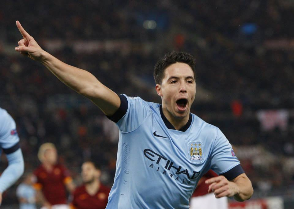 Magnifique - Samir's sensational 20-yarder set them on the path to victory. Courtesy@MCFC