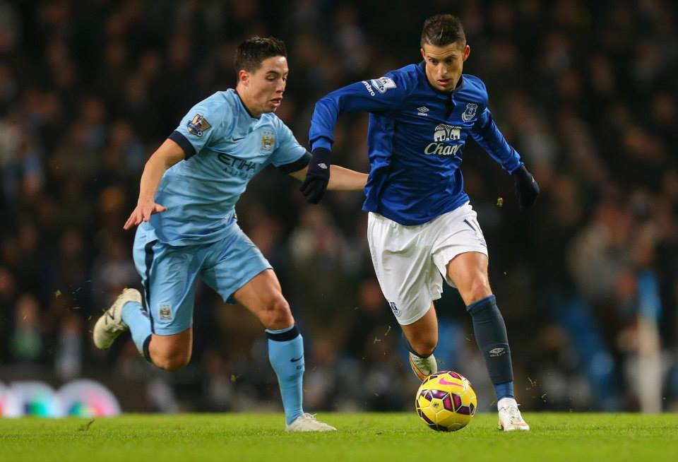 Magnifique in Manchester -Nasri was superb against Everton. Courtesy@MCFC