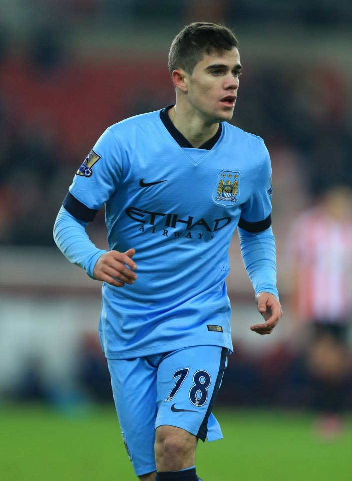 Bright night and even brighter future - Jose Angel Pozo made his Premier League debut for City. Courtesy@MCFC