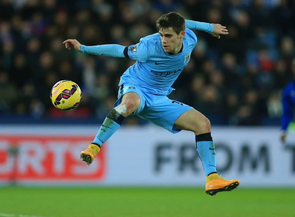 Big potential - Jose Angel Pozo has been thrust in at the deep end. Courtesy@MCFC