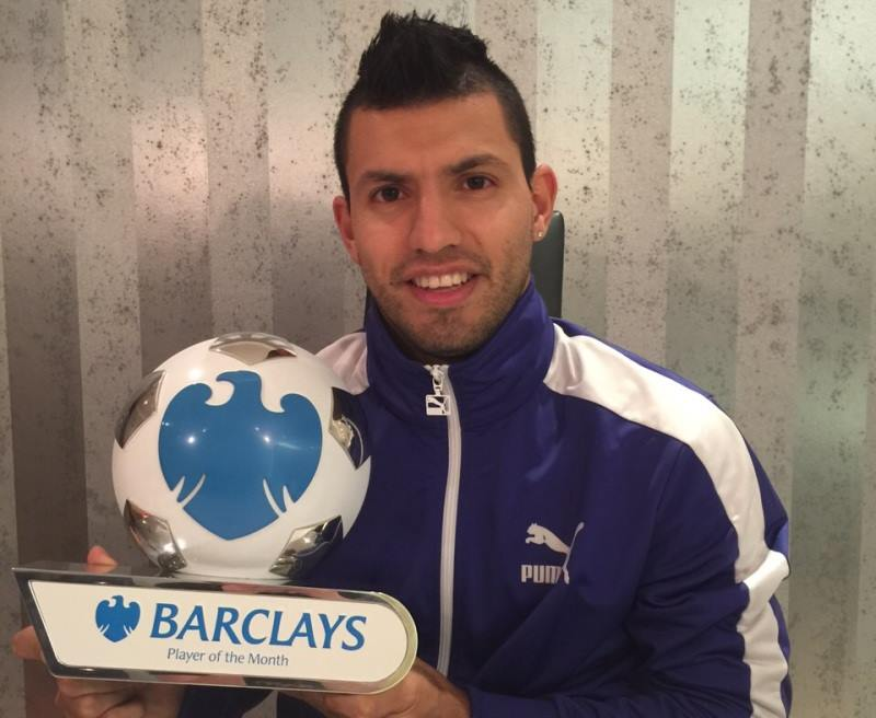 Man of the Moment - Sergio earned well deserved recognition as Barclays Player of the Month in November. Courtesy@MCFC